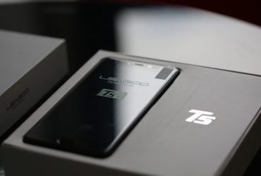 تصاویر رسمی جعبه گشایی گوشی LEAGOO T5